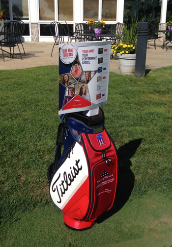 Patriot Golf Day Titleist Bag