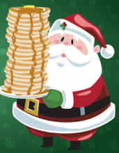 Breakfast with Santa Saturday, December 8th